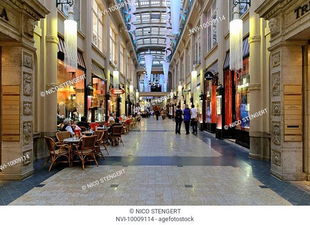 Maedlerpassage arcades, Leipzig, Saxony, Germany, Europe
