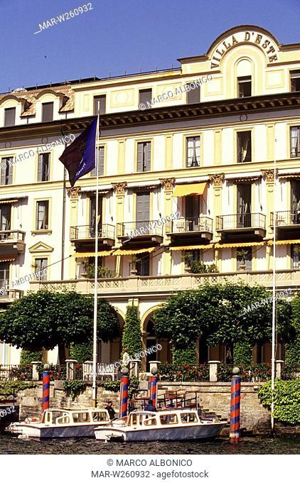 europe, italy, lombardia, cernobbio, villa d'este