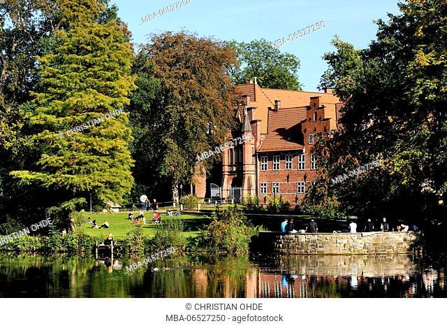 Bergedorf castle in Bergedorf, Hamburg, Germany, Europe