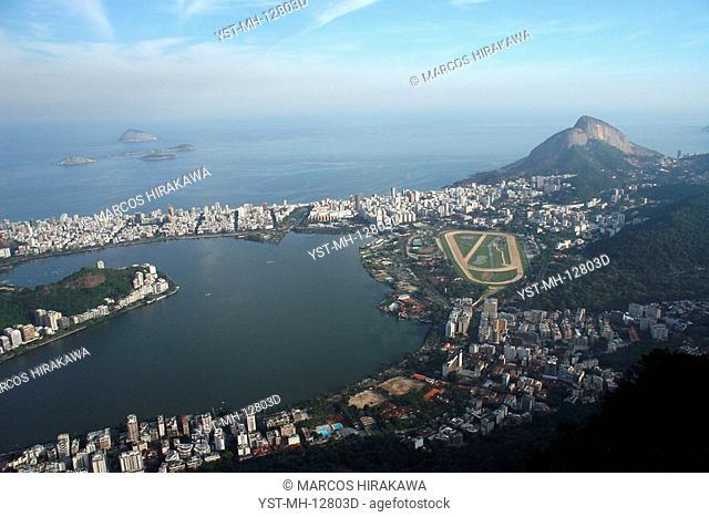 Pond Rodrigo de Freitas, Rio de Janeiro, Brazil
