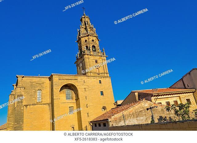 Parish Church of Santo Tomás Apostol, Baroque Tower, Plateresque Main Entrance, Gothic Style, S. XVI-S. XVIII, Spanish Property of Cultural Interest, Haro