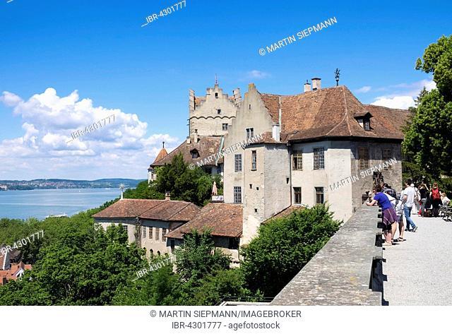 Alte Burg or Meersburg Castle, Meersburg, Lake Constance, Bodenseekreis, Upper Swabia, Baden-Württemberg, Germany