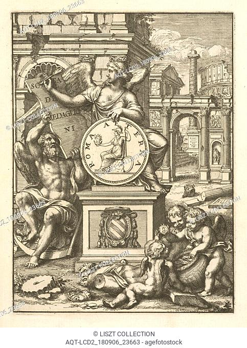 Frontispiece, Scelta de medaglioni piu rari nella bibliotheca dell' eminentiss. et reverendiss. principe il signor cardinale Gasparo Carpegna