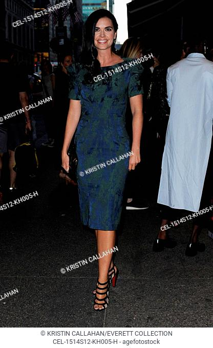 Katie Lee at arrivals for Zac Posen Spring & Summer 2016 Fashion Collection Presentation, Vanderbilt Hall at Grand Central Terminal, New York, NY September 14