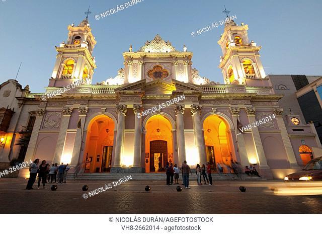 Cathedral Basilica of Salta, Plaza 9 de Julio, Province of Salta, Argentina