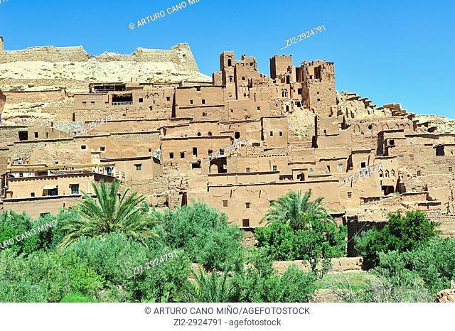 Aït Benhaddou Ksar. World Heritage. Ouarzazate province, Morocco