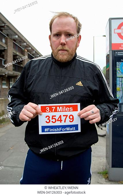"""MasterChef contestants Jamie Park and Tom Peters, along with many others supporters, run from Shadwell to """"finish"""" the final 3"""