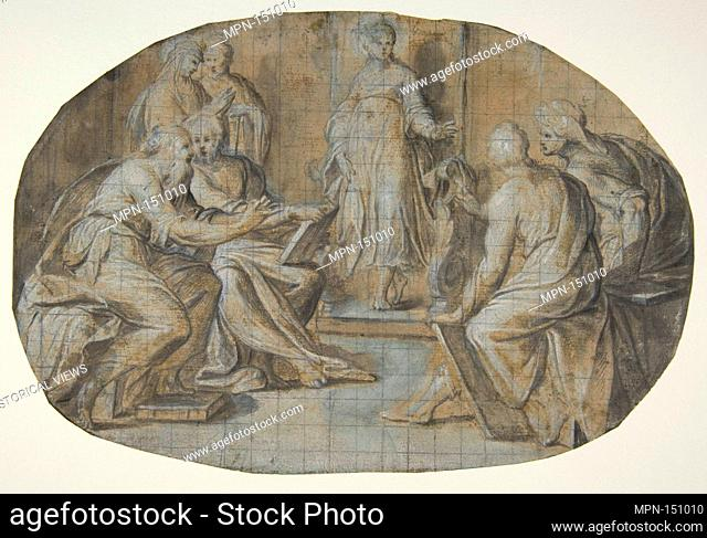 The Virgin and Saint Joseph find Jesus Disputing with the Doctors in the Temple. Artist: Camillo Procaccini (Italian, Bologna 1555-1629 Milan); Date: 1555-1629;...
