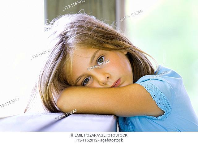 6-year old girl portrait