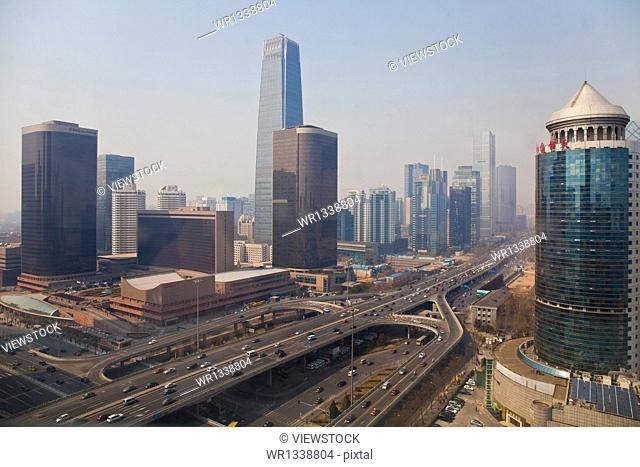 Beijing city building