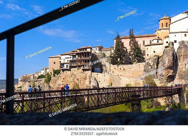 Casas colgadas. Ciudad de Cuenca. Castilla la Mancha. España