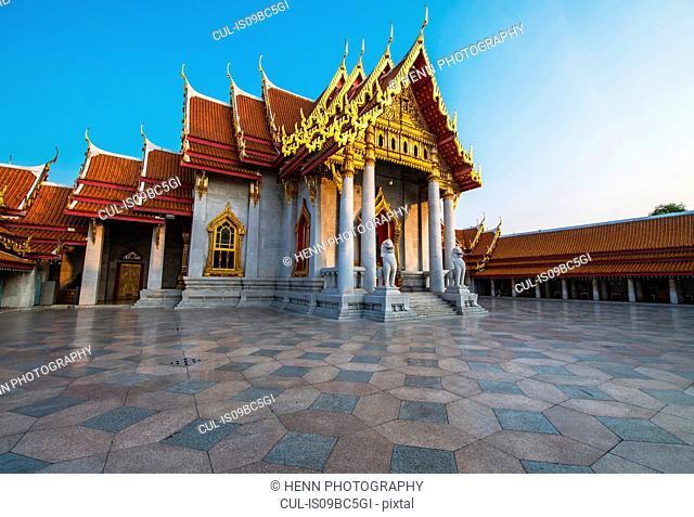 Wat Benchamabophit, the marble temple, Bangkok, Thailand