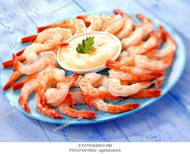 King Prawn / Shrimp With Marie Rose Sauce