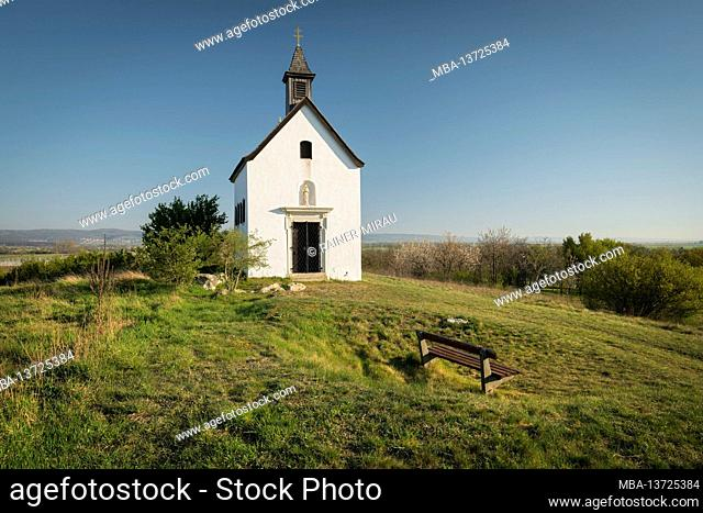 Rosalia Chapel near Oggau, Burgenland, Austria