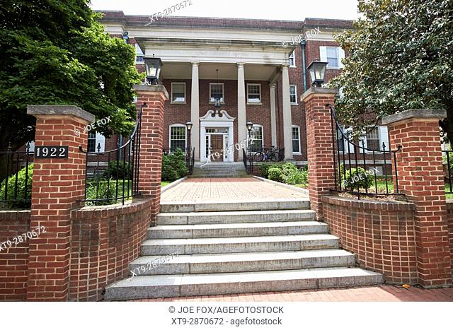old main building george washington university Washington DC USA