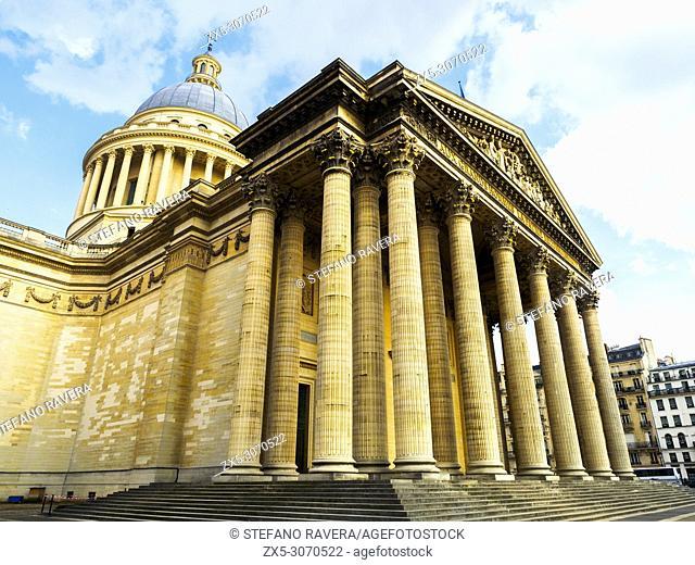 The Panthéon in the Latin Quarter - Paris, France