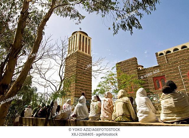 Orthodox cathedral Enda Mariam, Asmara, Eritrea