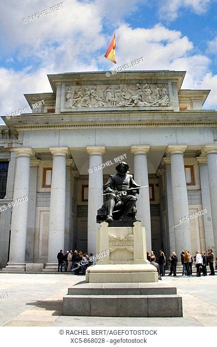 Velazquez Sculpture, Prado Museum, Madrid, Spain