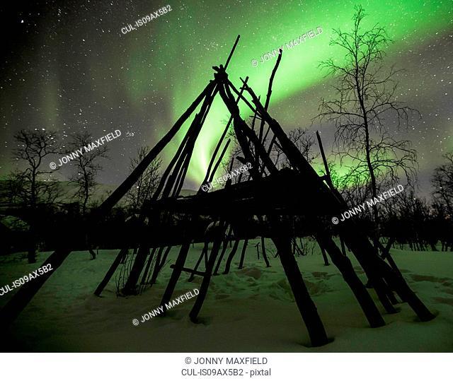 Northern lights, Abisko, Sweden