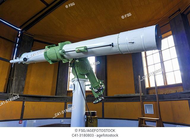Telescope. Tartu Old Observatory. Tartu. Estonia