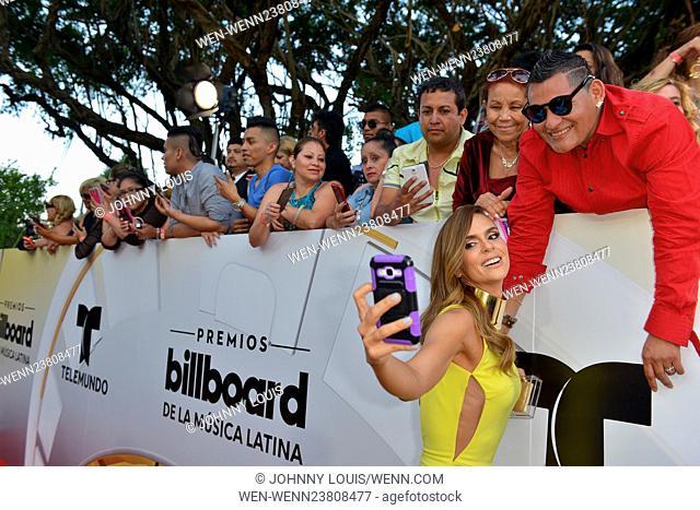 Billboard Latin Music Awards 2016 at BankUnited Center - Arrivals Featuring: Karen Martinez Where: Coral Gables, Florida