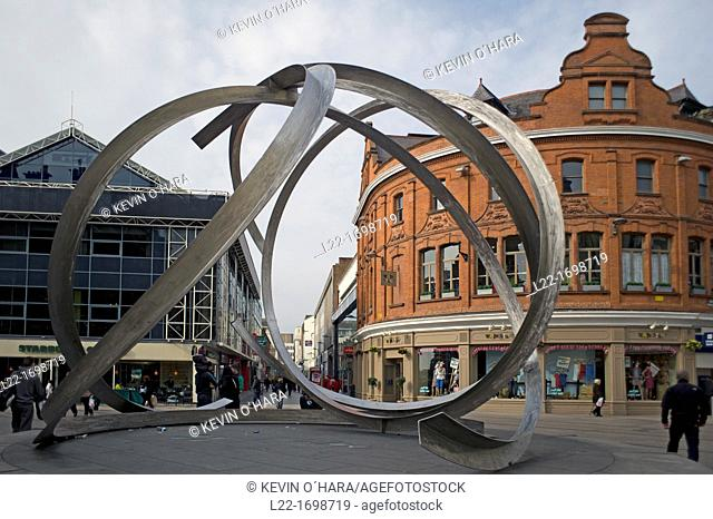 Victoria Square is a commercial, residential and leisure development  Belfast city  County Antrim  Ulster  Northern Ireland  United Kingdom