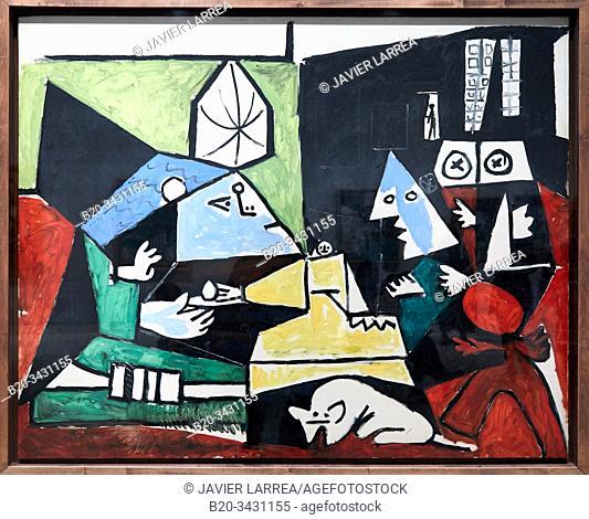 """""""Las Meninas"""", 1957, Pablo Picasso (1881-1973), Museu Picasso Museum, Barcelona, Catalonia, Spain"""