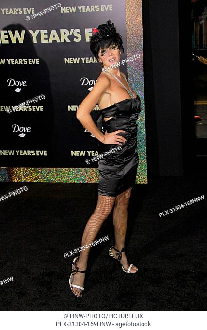 Nadeea 12/05/2011 New Year's Eve Premiere held at Grauman's Chinese Theater inHollywood, CA Photo by Manae Nishiyama / HollywoodNewsWire