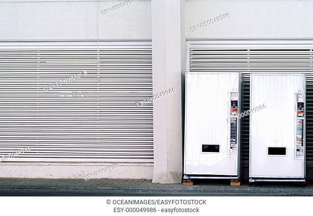Soft drinks vending machines