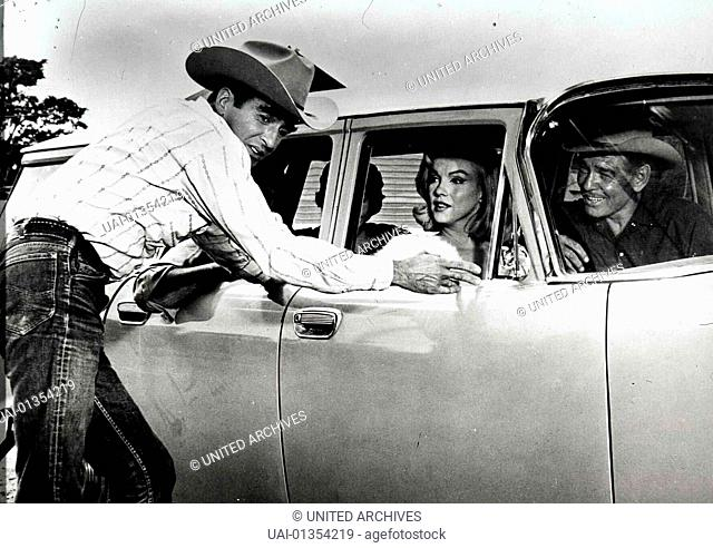 Misfits - Nicht Gesellschaftsfaehig, Misfits, The, Misfits - Nicht Gesellschaftsfaehig, Misfits, The, Montgomery Clift, Marilyn Monroe, Clark Gable