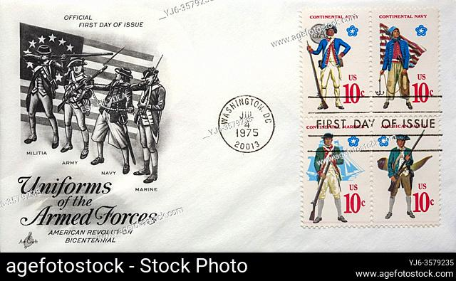 US 1975 First day of issue letter cover