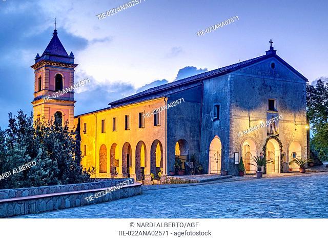 Italy, Campania, Cilento National Park, San Giovanni a Piro, Sanctuary of Pietrasanta