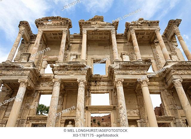The Celsus Library, Ephesus, Turkey