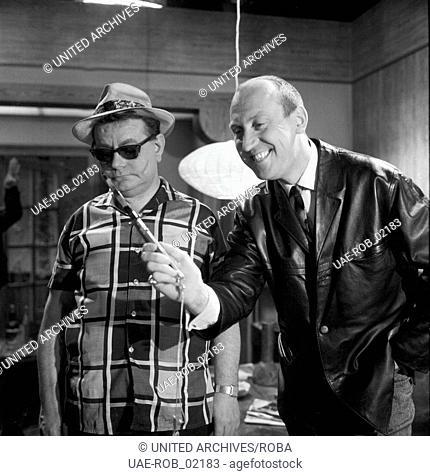 Die Katze im Sack, Deutschland 1965, Regie: Jürgen Roland, Darsteller: Karl Lieffen, Rudolf Fenner