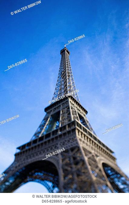 Eiffel Tower in the morning, Paris, France