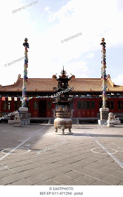 the Bigzhao Temple in Hohhot