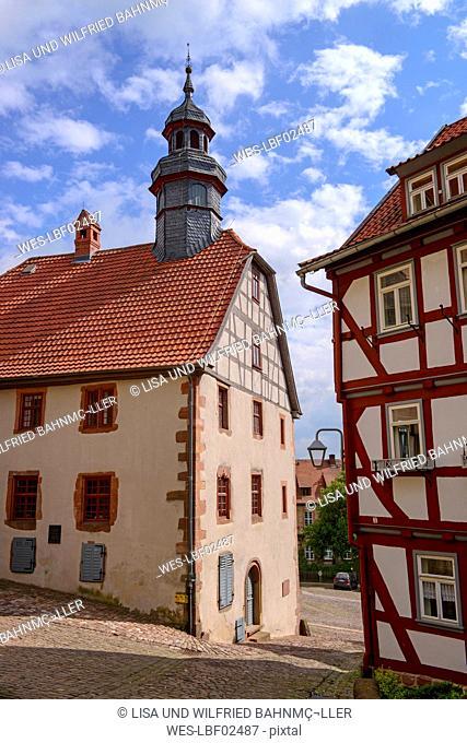 Germany, Schlitz, townhall