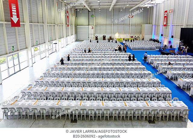 Waitresses. Dining room for 1,500 people. Ficoba, Basque Coast International Fair. Irun. Gipuzkoa. Basque Country. Spain