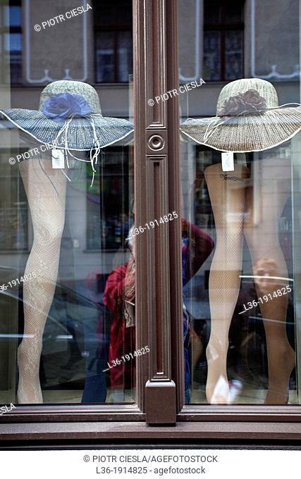 Shop window Poland