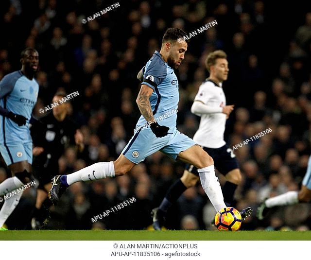 2017 Premier League Football Manchester City v Tottenham Hotspur Jan 21st. 21st January 2017, Etihad Stadium, Manchester, Lancashire