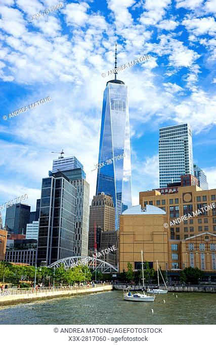 Freedom tower. New York city. Manhattan. New York. USA