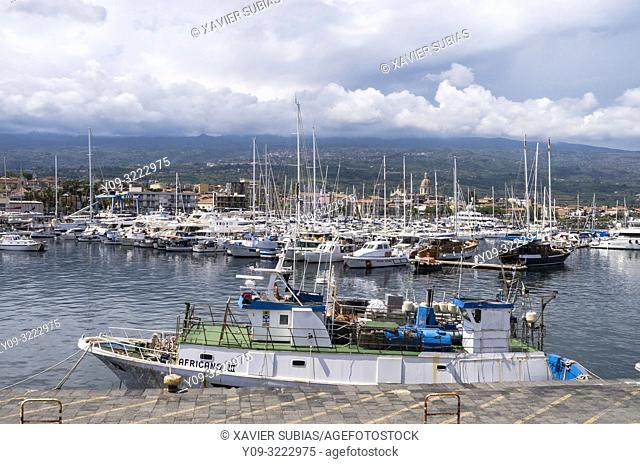 Port of Etna, Riposto, Riposto, Catania, Sicily, Italy