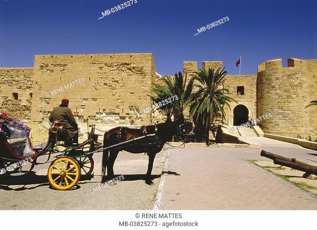 Tunisia, island Djerba, Houmt Souk,  Bordj El Kebir,   North Africa, little one Syrte, destination, sight, fort Espagnol, fortress, architecture, 13