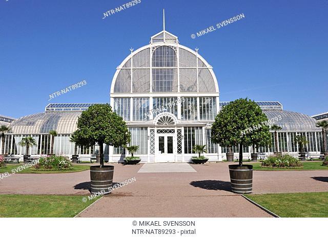Conservatory building exterior