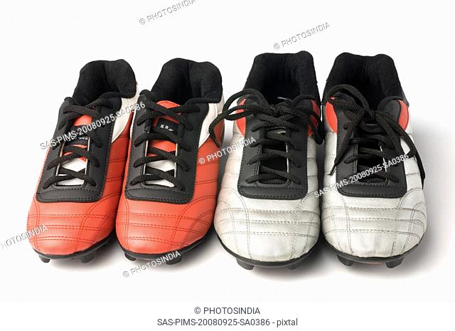 Two pairs of bowling shoes