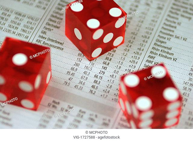 market rates and dice - 01/01/2009