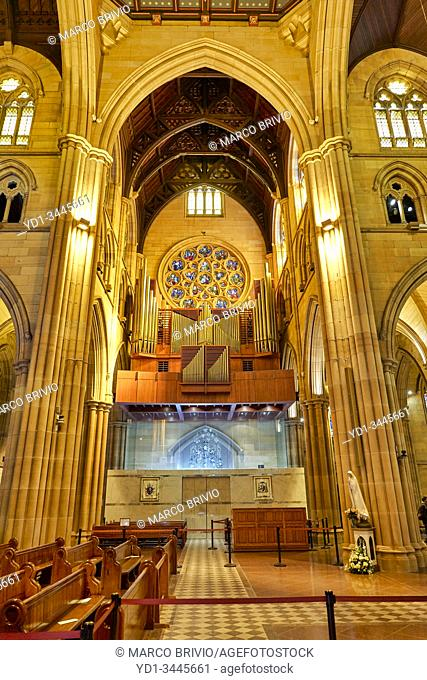 Sydney Australia. St. Mary's Cathedral