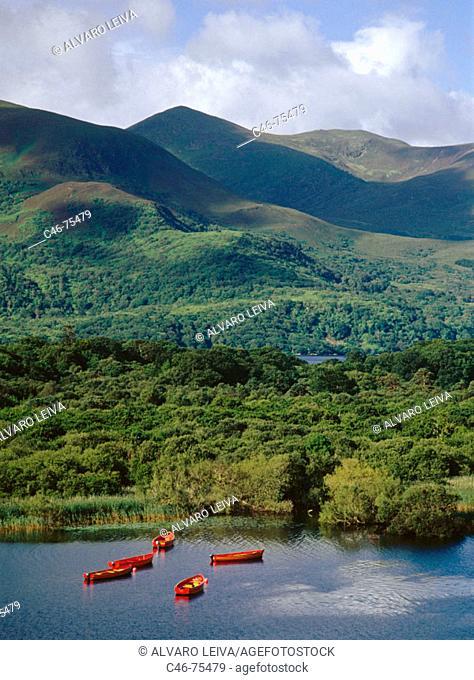 Lough Leane, Killarney National Park. Ireland