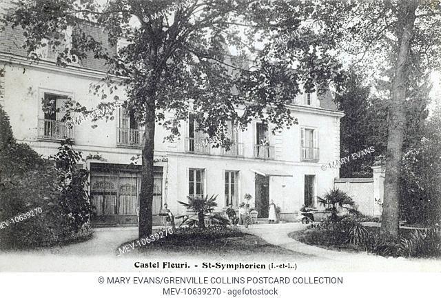 Castel Fleuri (a Hotel) - St Symphorien (Indre-et-Loire departement, part of Tours), France