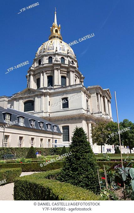 Les Invalides, Army Museum, Paris, France
